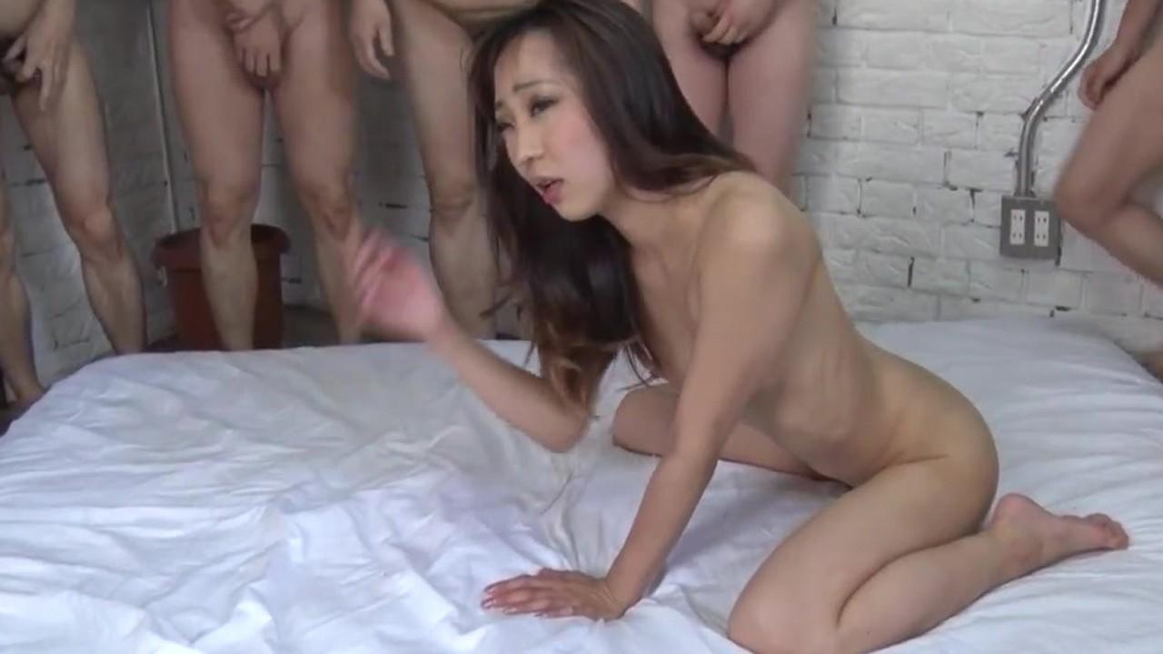 Порно японской толпы