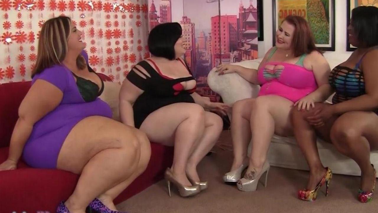 Толстые лесбиянки со стропонами