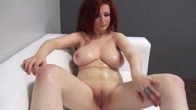Обжабанных порно кастинг с толстушками убойных голых телок